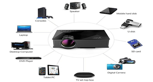What if instead of the computer or TV you use a projector to enjoy movies?