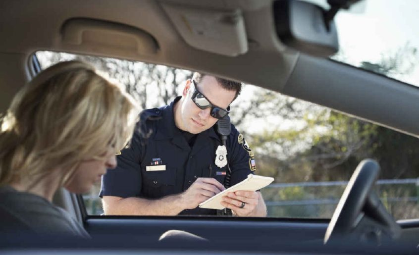 What to do when stopped at the checkpoint