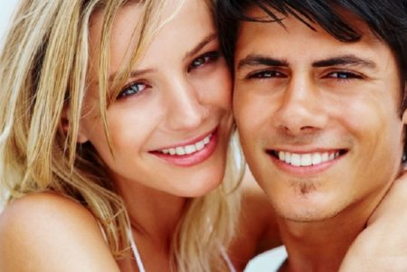 Independent teeth whitening