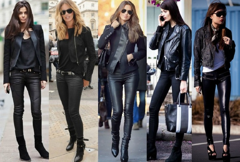 Biker Style In Clothes For Women