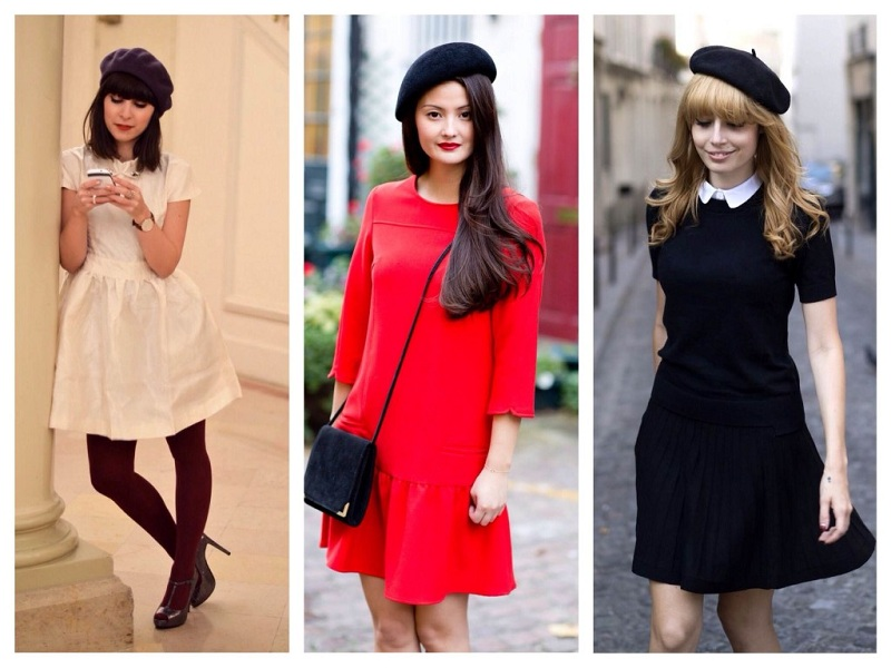 How To Wear A Female Beret In The Winter?
