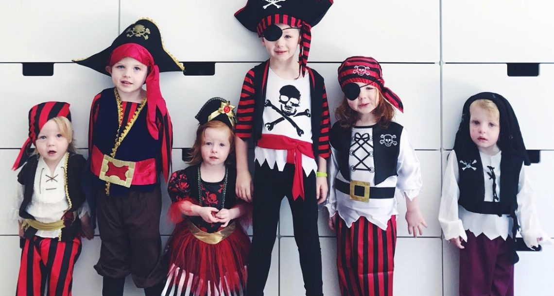 How To Sewing A Pirate Costume For Boys?